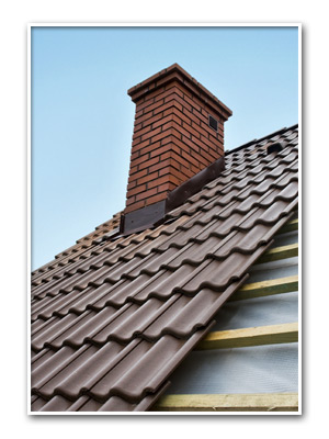 Chimney And Tile Roof Installation
